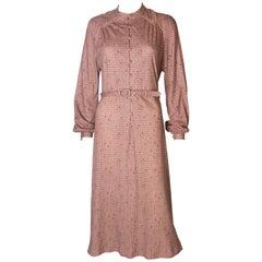 Vintage Jerseymasters Print Dress