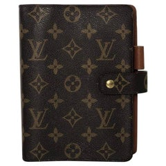 Louis Vuitton Monogram Agenda MM Planner