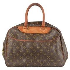 Louis Vuitton Vintage Brown Monogram Canvas Deauville Bag