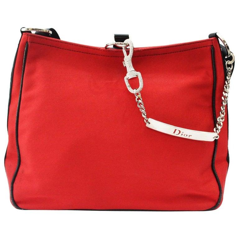 Christian Dior  Red Shoulder Bag