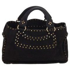 Celine Black Suede Boogie Bag