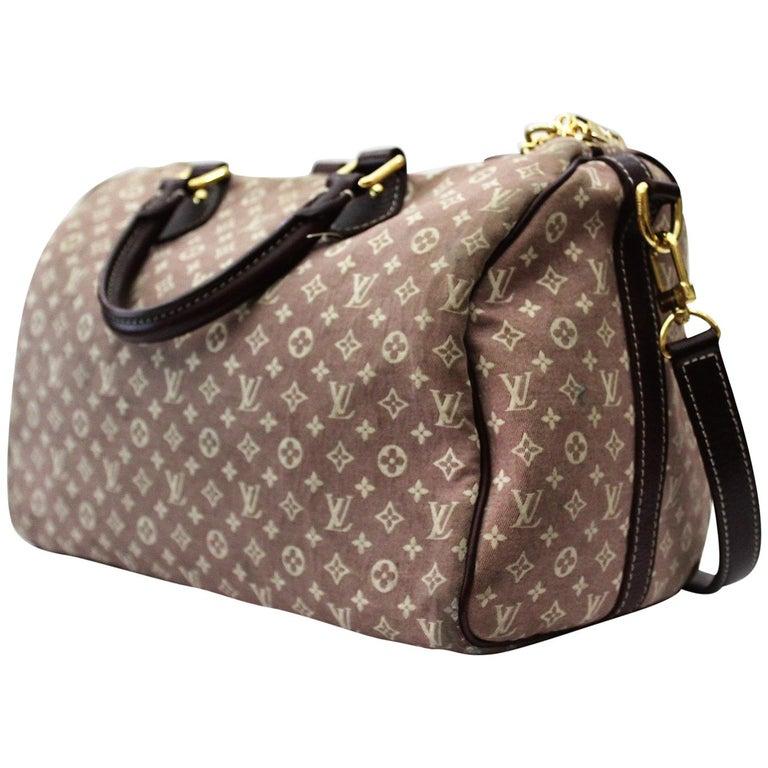 Louis Vuitton Sepia Monogram Idylle Speedy Bag