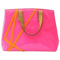 Louis Vuitton Limited Edition Robert Wilson Fluo Rose Monogram Vernis Bag