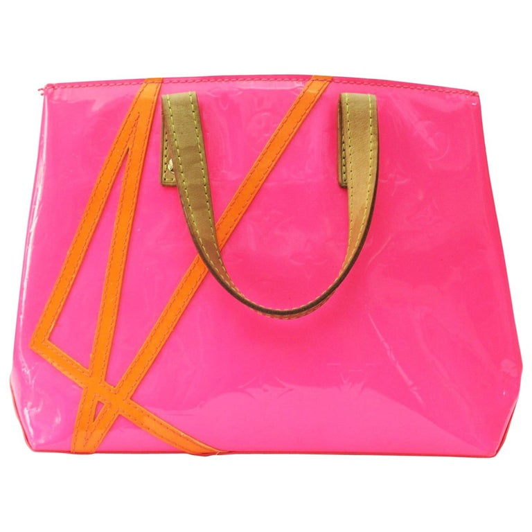 Louis Vuitton Limited Edition Robert Wilson Fluo Rose Monogram