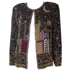 Stunning Vintage Beaded Jacket