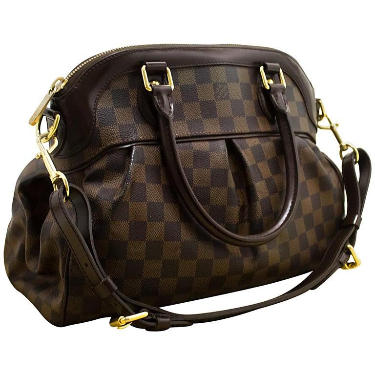 c686f3c52e16 Louis Vuitton Trevi PM Damier Ebene Shoulder Bag Strap Canvas at 1stdibs