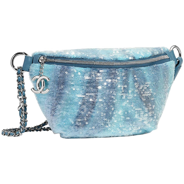 8392ba176b27 Chanel Sequin Belt Bag at 1stdibs