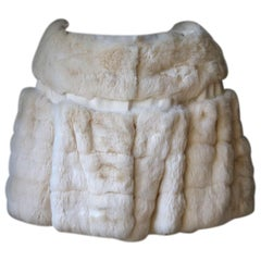 Giambattista Valli Chinchilla Fur Sleeveless Jacket