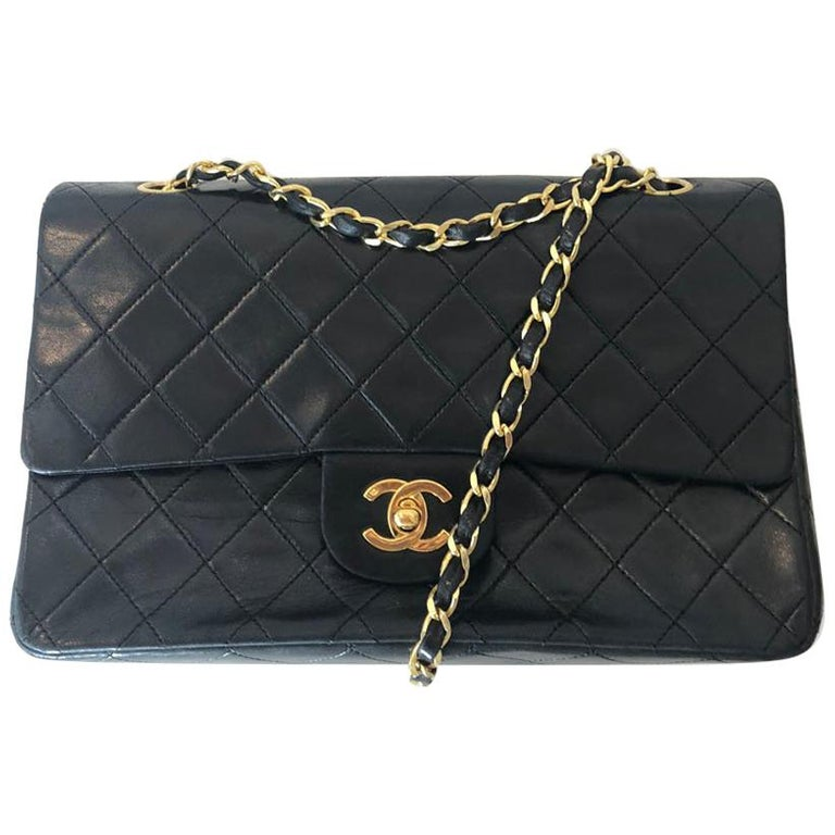 1990s Chanel Double Flap Medium