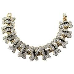 Swarovski Crystal Bumble Bee Bracelet New, Never worn 1980s