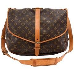 Louis Vuitton Saumur 35 Monogram Canvas Shoulder Bag