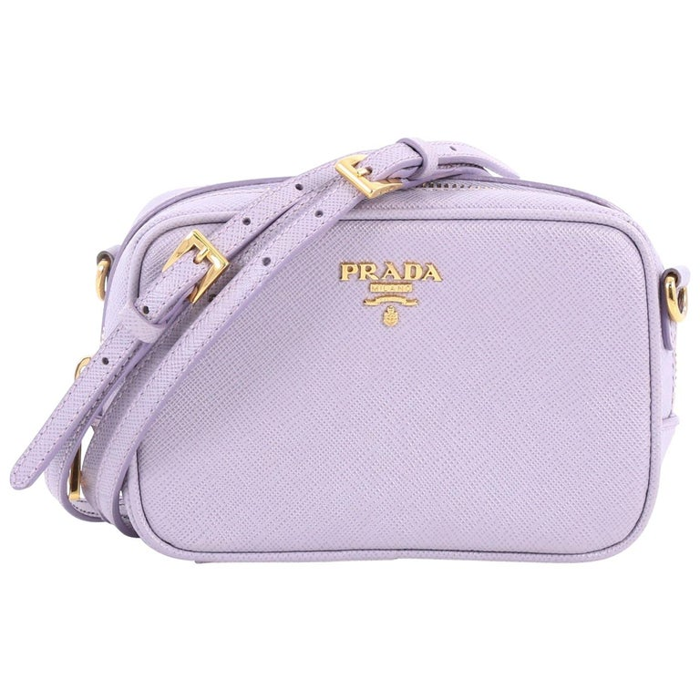 e97f60a708fec9 Prada Zip Crossbody Bag Saffiano Leather Mini at 1stdibs