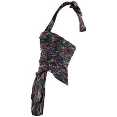 Missoni Silk Draped Halter Top - Size IT 40