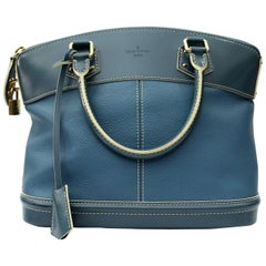 Louis Vuitton Lockit Suhali MM Top Handle Bag