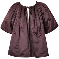 Galanos Duchess Satin Evening Jacket
