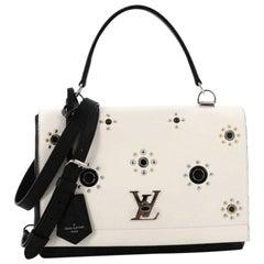 Louis Vuitton Lockme II Handbag Embellished Leather