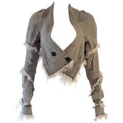 Vivienne Westwood, Anglomania, denim jacket