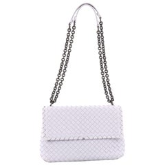 Bottega Veneta Olimpia Crossbody Bag Intrecciato Nappa Small