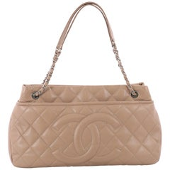 Chanel Timeless CC Soft Tote Quilted Caviar Large