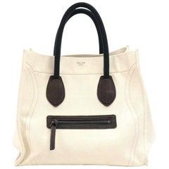 Celine Phantom Luggage Beige Canvas Tote Bag
