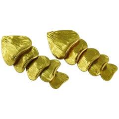Yves Saint Laurent Dangle Earrings