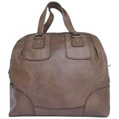 MIU MIU Weekender Bag in Taupe leather