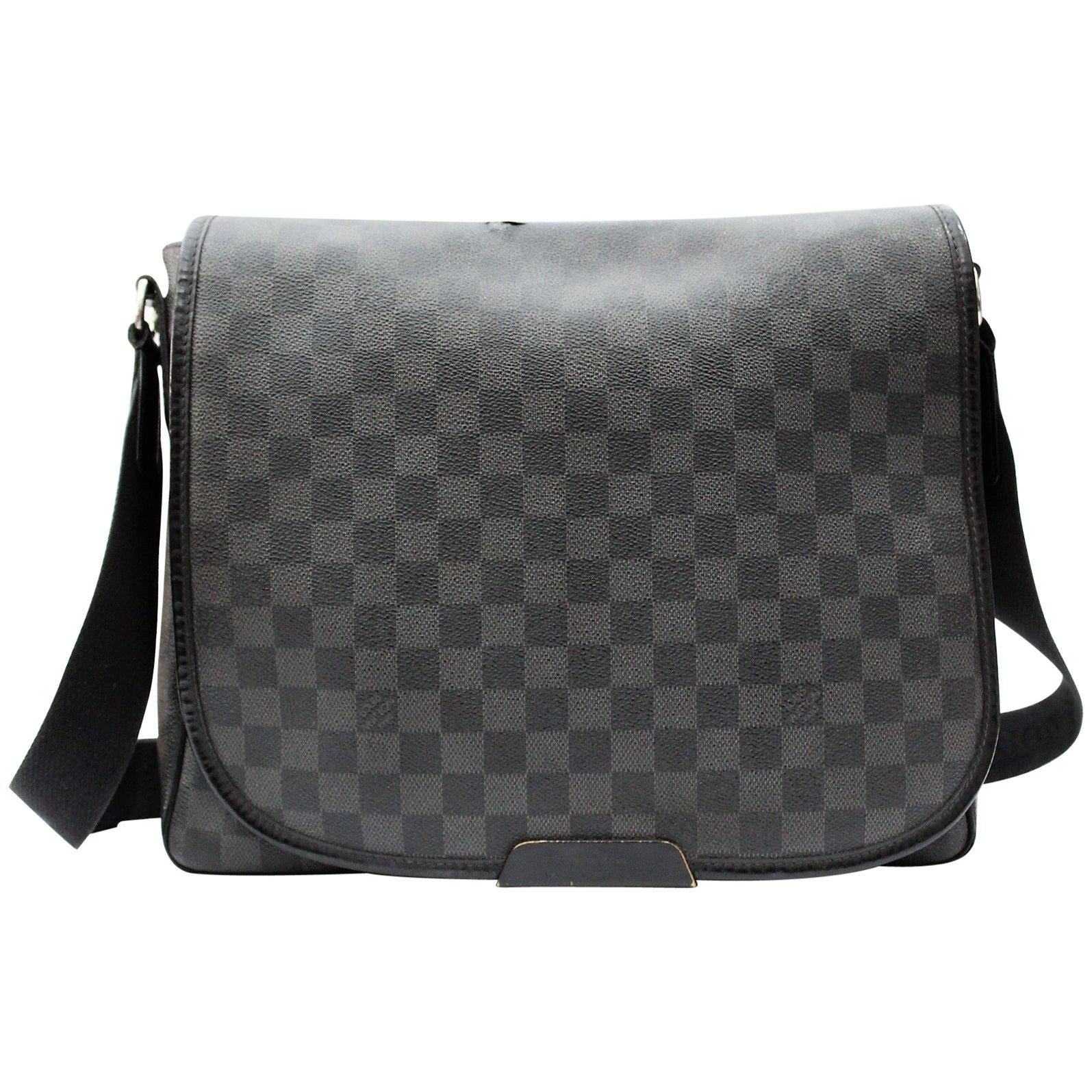 cdb6289a73 Louis Vuitton Damier Graphite Crossbody Bag