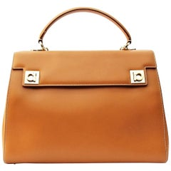 Salvatore Ferragamo Leather Shuolder Bag