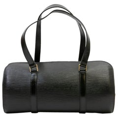 LOUIS VUITTON 'Butterfly' Bag in Black Epi Leather