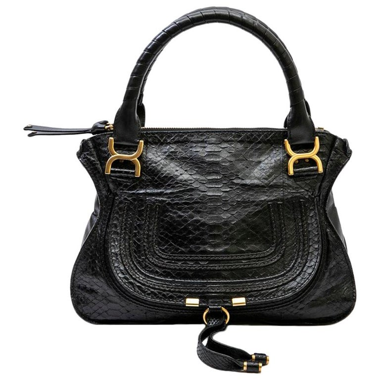 3a7242fcfc0 Chloe Black Leather Paraty For Sale at 1stdibs