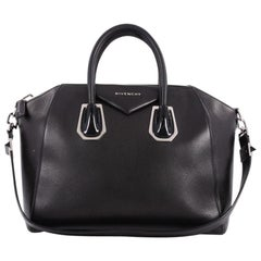 Givenchy Antigona Bag Leather with Metal Detail Medium