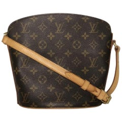 Louis Vuitton Monogram Drouot Crossbody Shoulder Handbag
