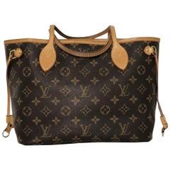 Louis Vuitton Monogram Neverfull PM Tote Handbag