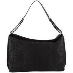 Chanel French Riviera Hobo Python Large