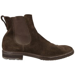 Gravati Brown Suede Chelsea Ankle Boots / Shoes