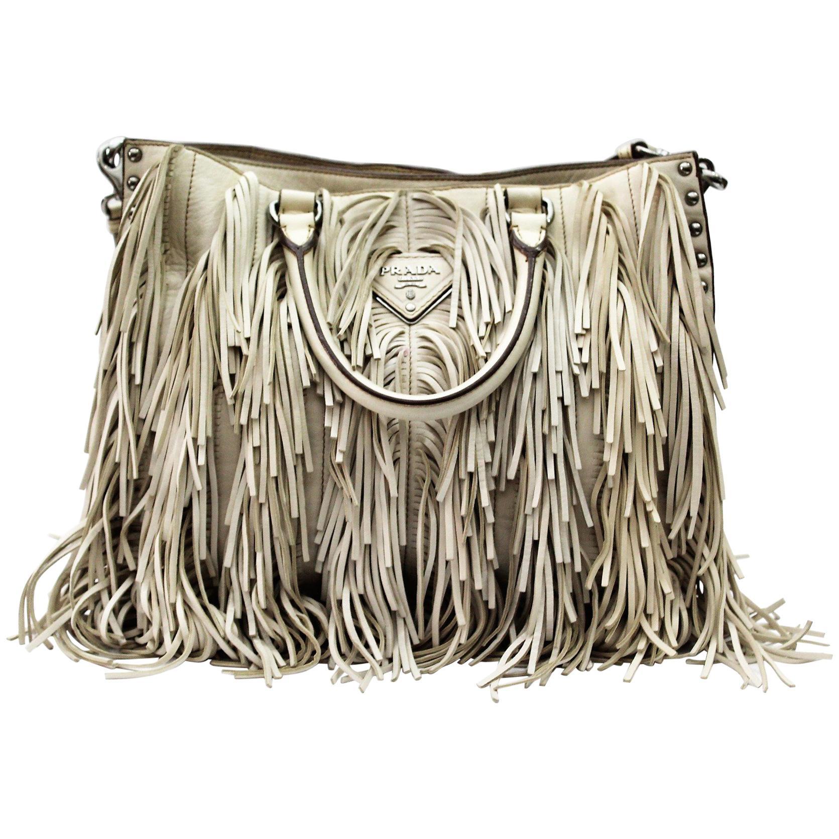 08866b58f520 Prada Leather Bag For Sale at 1stdibs