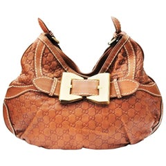 Gucci Leather Top Handle Bag