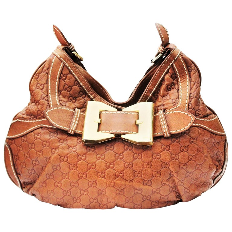 135e50008f27 Gucci Leather Top Handle Bag For Sale at 1stdibs