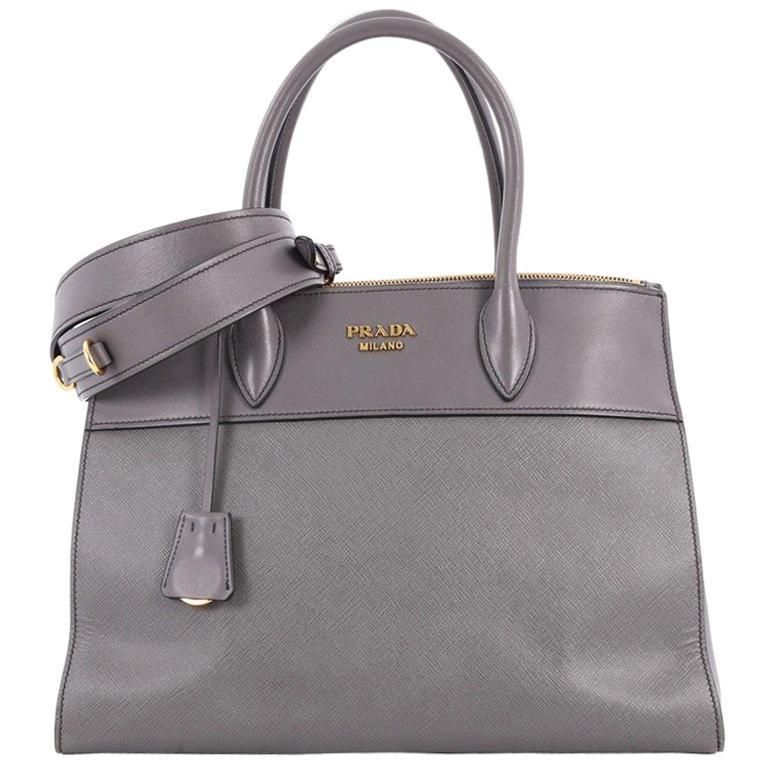 0e67adf89793 Prada Paradigme Handbag Saffiano Leather Medium at 1stdibs