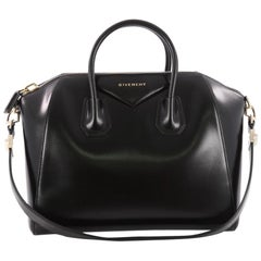 Givenchy Antigona Bag Glazed Leather Medium