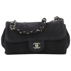 Chanel Ultimate Stitch Accordion Bag Quilted Nubuck Medium