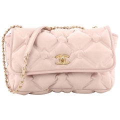 Chanel Chesterfield Flap Bag Quilted Calfskin Jumbo