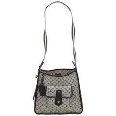 Louis Vuitton Blue Monogram Mini Lin Mary Kate Bag