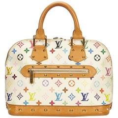 Louis Vuitton White x Multi Monogram Multicolore Alma PM