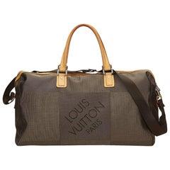 Louis Vuitton Brown Damier Geant Albatros Duffel Bag