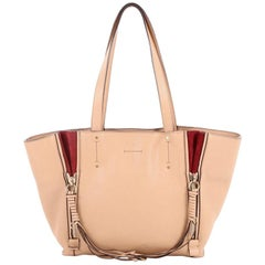 Chloe Milo Shopping Tote Leather Small