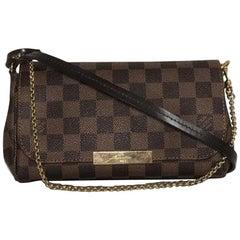 Louis Vuitton Damier Ebene Favorite PM Crossbody Handbag