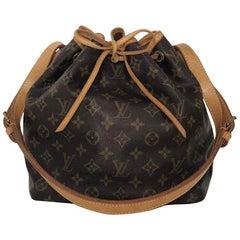 Louis Vuitton Monogram Noe PM Shoulder Handbag