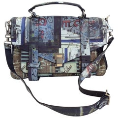 Proenza Schouler classic graffiti PS1 Bag, S / S 2013