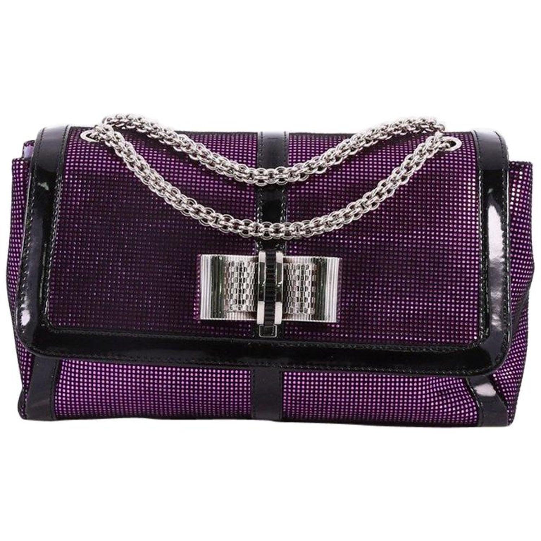 1db165aaf00 Christian Louboutin Sweet Charity Crossbody Bag Glitter Leather Small